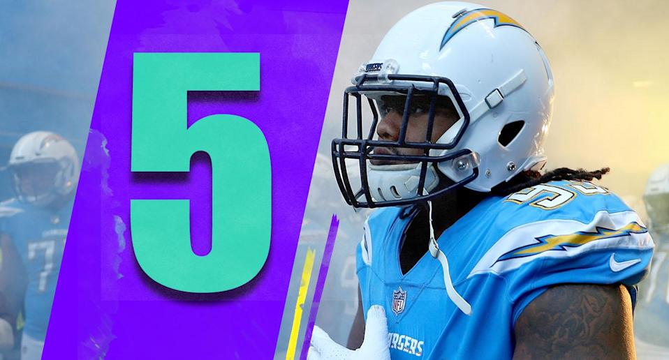 <p>The Chargers' next game at the Seahawks is big, because it is followed by three very winnable games: at Raiders, vs. Broncos, vs. Cardinals. With a win on Sunday, the Chargers probably will be 9-2 heading into December. (Darius Philon) </p>