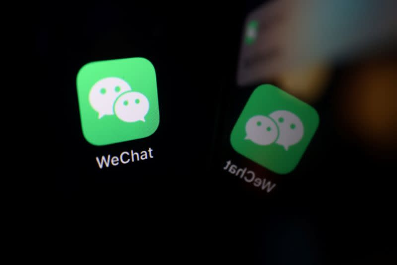 Illustration picture of WeChat app