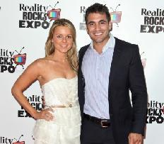 Ali Fedotowsky and Roberto Martinez attend the Reality Rocks Expo Fan Awards at the Los Angeles Convention Center on April 9, 2011 in Los Angeles -- Getty Images