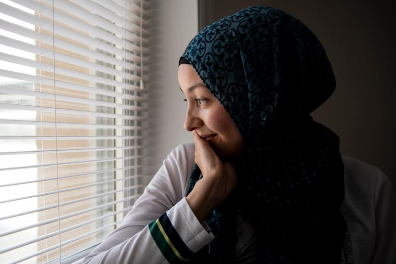 Tuğba fled Turkey with her three children to join her husband in America.