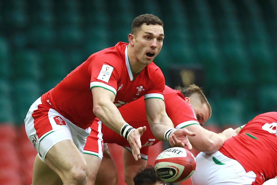 George North will earn his 100th cap for Wales against England in CardiffGetty Images