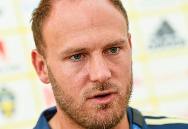Sweden captain Andreas Granqvist surprised by Germany's tactics (AFP Photo/Jonathan NACKSTRAND)