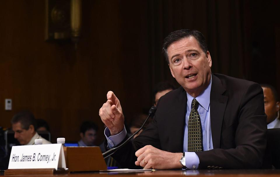 """<p><strong>Former FBI director </strong></p> <p>Comey, who was a <a href=""""https://edition.cnn.com/2016/07/07/politics/who-is-james-comey-fbi-director-things-to-know/index.html"""" rel=""""nofollow noopener"""" target=""""_blank"""" data-ylk=""""slk:registered Republican"""" class=""""link rapid-noclick-resp"""">registered Republican</a> """"for most of [his] adult life,"""" endorsed Biden in a <a href=""""https://twitter.com/Comey/status/1234899712991518722"""" rel=""""nofollow noopener"""" target=""""_blank"""" data-ylk=""""slk:tweet on March 3, 2020"""" class=""""link rapid-noclick-resp"""">tweet on March 3, 2020</a>.</p> <p>The former FBI director — who was famously <a href=""""https://people.com/politics/president-trump-fires-fbi-director-james-comey/"""" rel=""""nofollow noopener"""" target=""""_blank"""" data-ylk=""""slk:fired by President Trump in 2017"""" class=""""link rapid-noclick-resp"""">fired by President Trump in 2017</a> and later <a href=""""https://abcnews.go.com/Politics/comey-republican-party-left/story?id=54535829"""" rel=""""nofollow noopener"""" target=""""_blank"""" data-ylk=""""slk:denounced the Republican party"""" class=""""link rapid-noclick-resp"""">denounced the Republican party</a> — wrote, """"Voted in first Dem primary to support party dedicated to restoring values in WH. I agree with <a href=""""https://twitter.com/amyklobuchar"""" rel=""""nofollow noopener"""" target=""""_blank"""" data-ylk=""""slk:@amyklobuchar"""" class=""""link rapid-noclick-resp"""">@amyklobuchar</a>: We need candidate who cares about all Americans and will restore decency, dignity to the office. There is a reason Trump fears <a href=""""https://twitter.com/JoeBiden"""" rel=""""nofollow noopener"""" target=""""_blank"""" data-ylk=""""slk:@joebiden"""" class=""""link rapid-noclick-resp"""">@joebiden</a> and roots for Bernie. <a href=""""https://twitter.com/hashtag/Biden2020?src=hashtag_click"""" rel=""""nofollow noopener"""" target=""""_blank"""" data-ylk=""""slk:#Biden2020"""" class=""""link rapid-noclick-resp"""">#Biden2020</a>."""" </p>"""