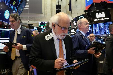 Dow Jones falls almost  800 points amid trade war, recession fears