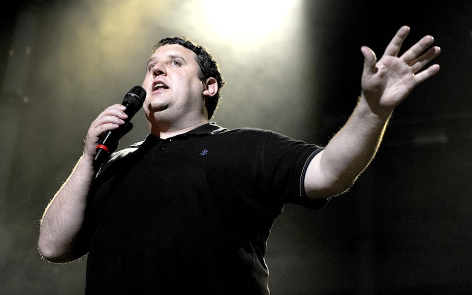 Comedian Peter Kay appears as special surprise guest introducing Keane performing at Manchester Apollo on May 30, 2012 in Manchester, England.  (Photo by Shirlaine Forrest/WireImage)