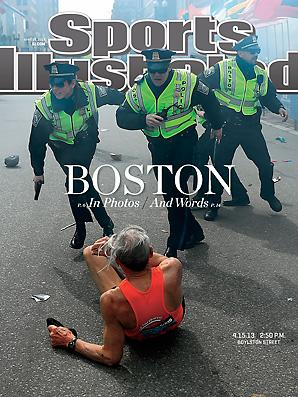 The Most Evocative Magazine Covers of the Boston Marathon Bombing