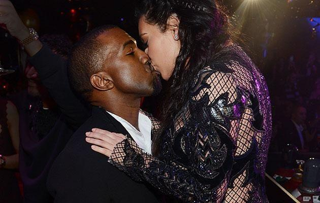 Despite their usual public antics, Kim and Kanye have been cagey about the surrogacy rumours. Source: Getty