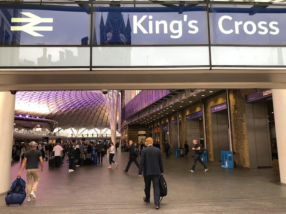 Close down: King's Cross, one of the busiest stations in Britain, will have no trains from the evening of Christmas Eve to the morning of New Year's Eve (Simon Calder)