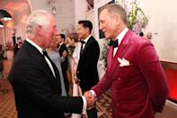 <p>Prince Charles was neither shaken nor stirred by meeting the franchise star, Daniel Craig. </p>