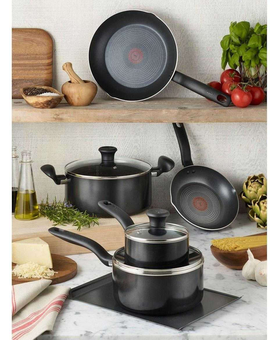 """<p>Head over to this department store's Fourth of July sale if your kitchenware is in desperate need of an upgrade. You can opt for a entirely new collection, because the price of <a href=""""https://go.redirectingat.com?id=74968X1596630&url=https%3A%2F%2Fwww.macys.com%2Fshop%2Fproduct%2Ft-fal-culinaire-16-pc.-nonstick-aluminum-cookware-set%3FID%3D9478612&sref=https%3A%2F%2Fwww.delish.com%2Ffood-news%2Fg33002409%2Fbest-4th-of-july-sales-2020%2F"""" rel=""""nofollow noopener"""" target=""""_blank"""" data-ylk=""""slk:a 16-piece Aluminum Cookware Set from T-Fal"""" class=""""link rapid-noclick-resp"""">a 16-piece Aluminum Cookware Set from T-Fal</a> has been slashed from about $250 to $69.99. <a href=""""https://go.redirectingat.com?id=74968X1596630&url=https%3A%2F%2Fwww.macys.com%2Fshop%2Fproduct%2Fmartha-stewart-collection-4-qt.-enameled-cast-iron-round-dutch-oven-created-for-macys%3FID%3D10485968%26CategoryID%3D188572&sref=https%3A%2F%2Fwww.delish.com%2Ffood-news%2Fg33002409%2Fbest-4th-of-july-sales-2020%2F"""" rel=""""nofollow noopener"""" target=""""_blank"""" data-ylk=""""slk:Martha Stewart's Dutch Oven"""" class=""""link rapid-noclick-resp"""">Martha Stewart's Dutch Oven</a> and <a href=""""https://go.redirectingat.com?id=74968X1596630&url=https%3A%2F%2Fwww.macys.com%2Fshop%2Fproduct%2Fcuisinart-toa-60w-1800-watts-air-fryer-toaster-oven%3FID%3D10574234%26pla_country%3DUS%26CAGPSPN%3Dpla%26nrtv_cid%3Dd0de45273648a965fd15048995a837d8ab4b44d5e50ca47b346e66a1fbbd9cdb%26cm_mmc%3Dnarrativ-_-nhome-_-usatoday-_-1710952777110584342%26m_sc%3Dsem%26m_sb%3Dnarrativ%26m_tp%3DPLA%26m_cn%3Dhome%26m_pi%3Dusatoday_NAME%26m_ac%3Dnarrativ&sref=https%3A%2F%2Fwww.delish.com%2Ffood-news%2Fg33002409%2Fbest-4th-of-july-sales-2020%2F"""" rel=""""nofollow noopener"""" target=""""_blank"""" data-ylk=""""slk:Cuisinart's Air Fryer Toaster"""" class=""""link rapid-noclick-resp"""">Cuisinart's Air Fryer Toaster</a> are also selling for more than 50% off their normal price.</p><p><a class=""""link rapid-noclick-resp"""" href=""""https://go.redirectingat.com?id=74968X1596630&url=https%3A%2F"""
