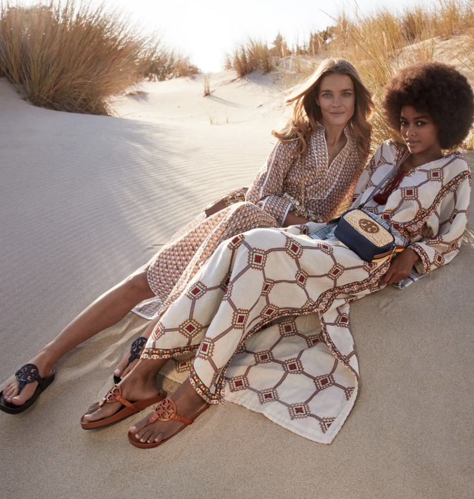 Tory Burch Miller Cloud Sandals available at Nordstrom.