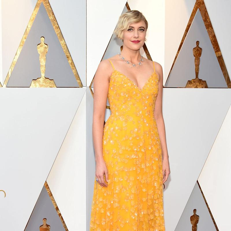 Greta Gerwig\'s Whimsical Rodarte Dress Was a Real Red Carpet Win