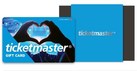 Ticketmaster Gift Card - Credit: Ticketmaster