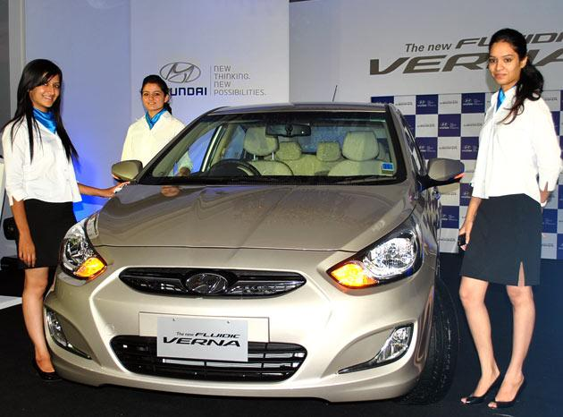 Hyundai Motor India Limited launched the all-new Fluidic Verna that boasts of futuristic looks, luxurious interiors, cutting-edge technology and premium appeal.