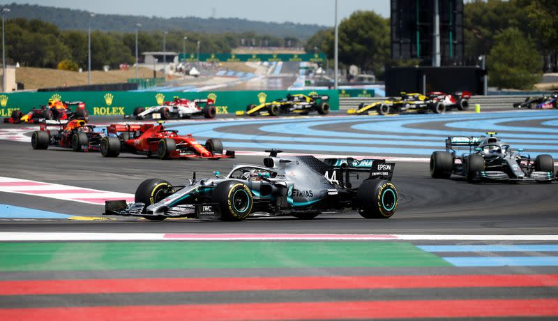 F1 expects to start delayed season in Austria in July