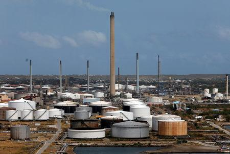 FILE PHOTO: Isla Oil Refinery PDVSA terminal is seen in Willemstad on the island of Curacao