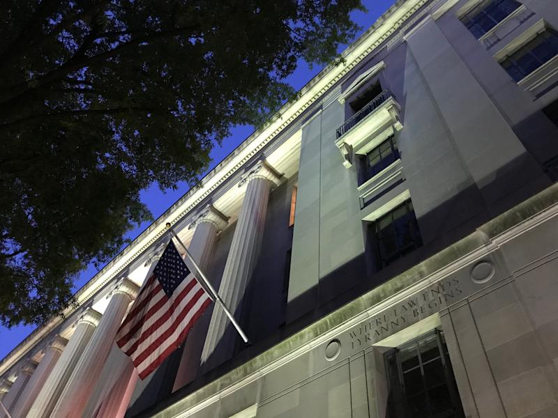 Department of Justice headquarters in Washington, D.C. (Photo: )