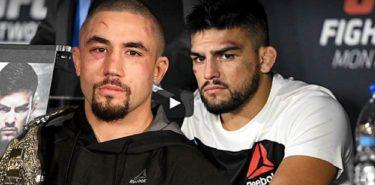 Robert Whittaker and Kelvin Gastelum