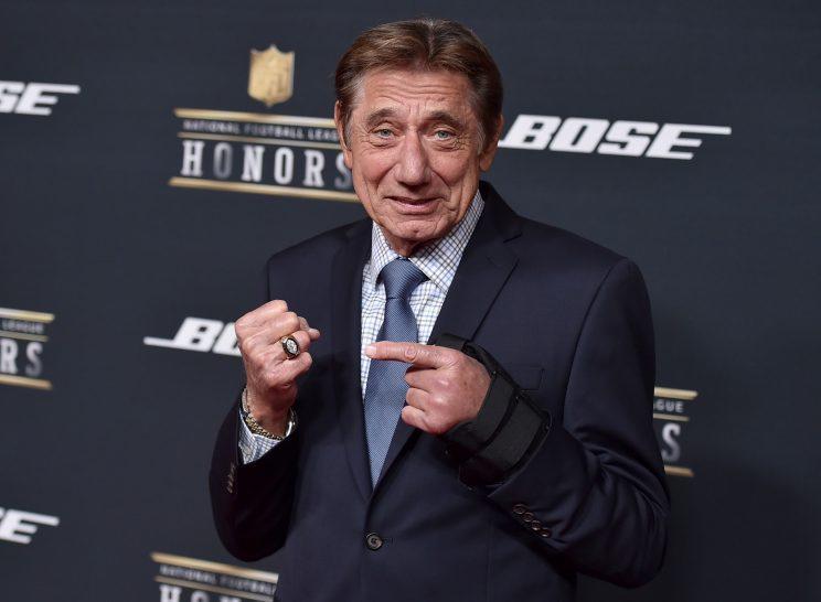 Joe Namath is back talking Jets quarterbacks. (AP)