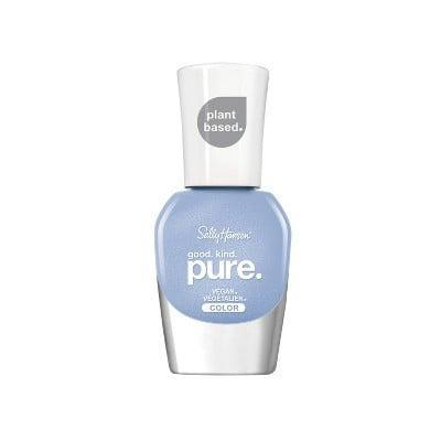 <p><span>Sally Hansen Good. Kind. Pure. Nail Color in Crystal Blue</span> ($8)</p>