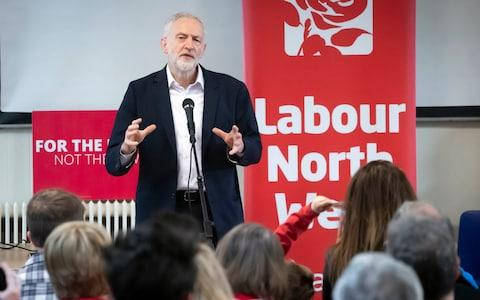 Labour leader Jeremy Corbyn, seen here campaigning in Lancashire last week, faces new claims the party is not taking a tough enough line on anti-Semitism - Credit: Danny Lawson/PA