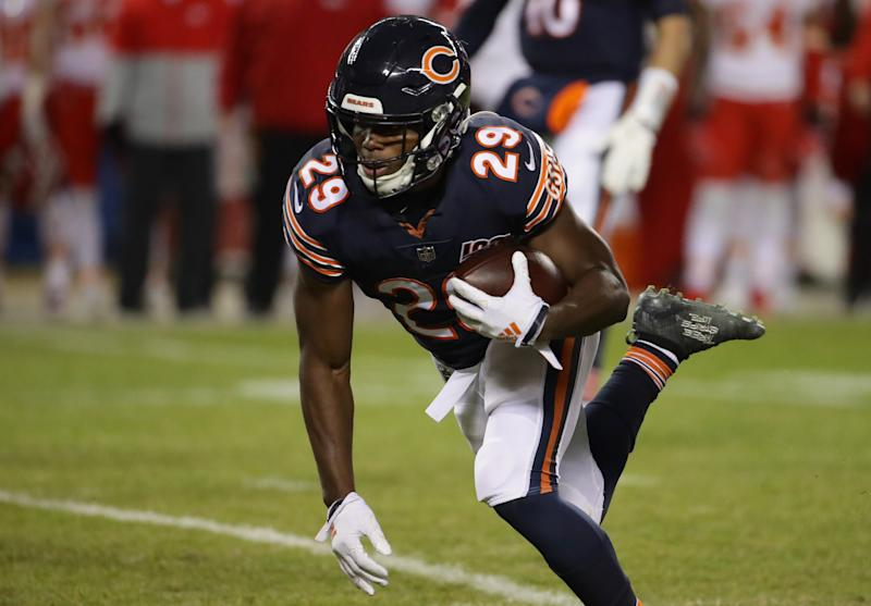 Bears, RB Tarik Cohen agree to 3-year contract extension worth $17.25 million