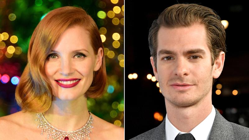 Jessica Chastain And Andrew Garfield To Star In Tammy Faye Pic For Fox Searchlight Exclusive