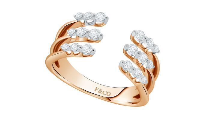 Flare Collection Frank & co-Glimmer Ladies Ring/Istimewa