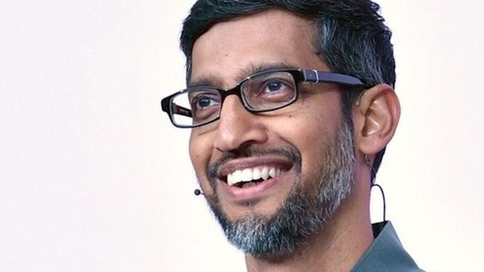 Sundar Pichai is the new chief executive of Alphabet, Google's holding company