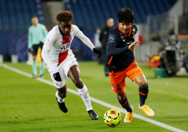 Ligue 1 - Montpellier v Paris St Germain