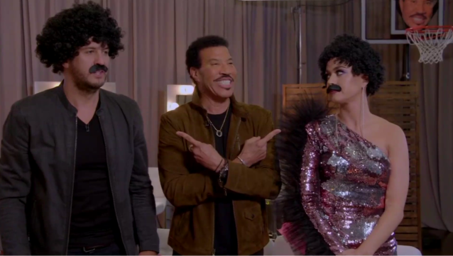 Luke Bryan, Lionel Richie, and Katy Perry (Photo: ABC)