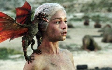 Daenerys hatches dragons in Game of Thrones - Credit: HBO