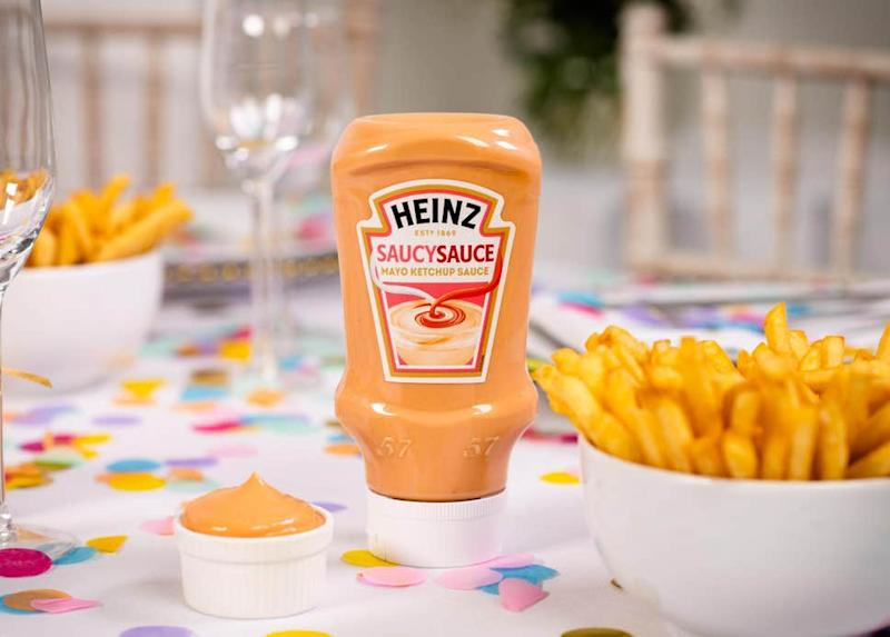 Heinz is launching Saucy Sauce, a mayo ketchup hybrid, on 23rd August. [Photo: Heinz]