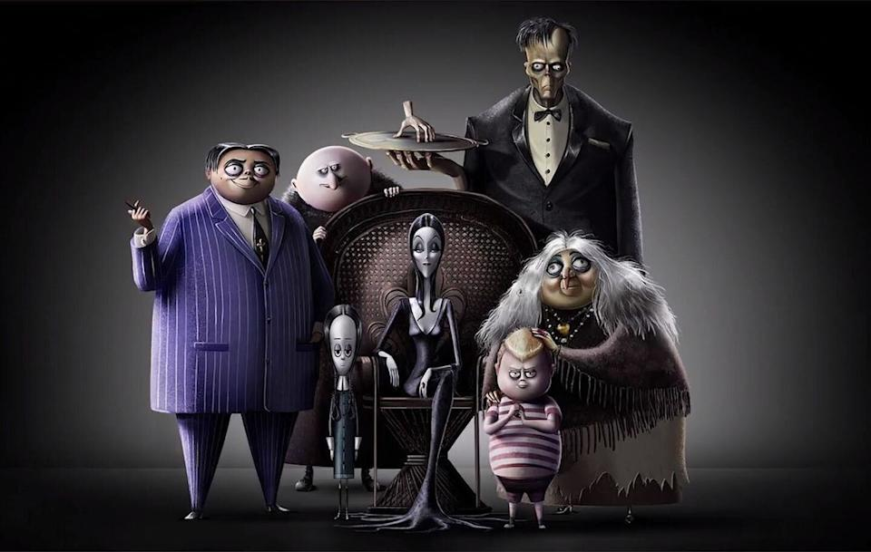 "<p>They're creepy and they're kooky, and now they're getting an animated reimagination that dives into how Gomez and Morticia met. It comes from the guys who did <em>Sausage Party</em><em></em>, and both are <a rel=""nofollow"" href=""https://deadline.com/2018/06/charlize-theron-addams-family-cast-bette-midler-allison-janney-1202403723/"">huge fans</a> of the Charles Addams <em>New Yorker</em> cartoons. Notable voices include Charlize Theron, Bette Midler, and Allison Janney.</p><p><strong>In theaters October 18. </strong></p> (Photo: Harper's Bazaar)"