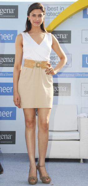 Deepika Padukone at Neutrogena's press conference