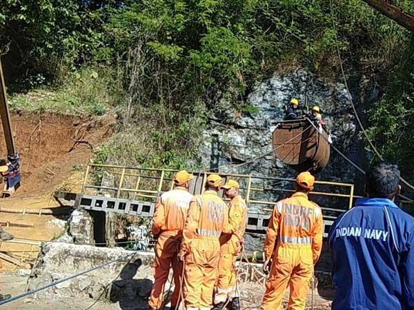 Image result for Trapped coal miners: Meghalaya rescue ops continue