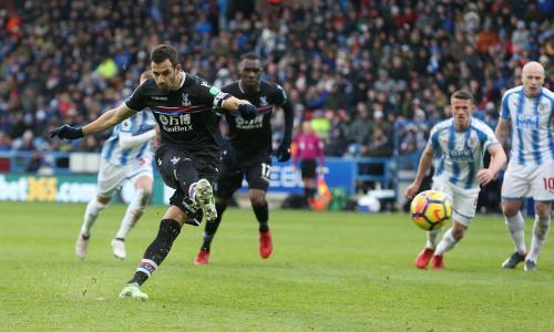 Luka Milivojevic seals vital win for Crystal Palace at Huddersfield