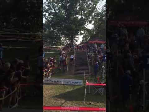 <p>At the Chicago Cross Cup last year, cyclocross legend Sven Nys rode <em>up</em> some stairs. But he didn't make all the way the first time, so he went back to do it again. </p><p><span>See the original post on Youtube</span></p>