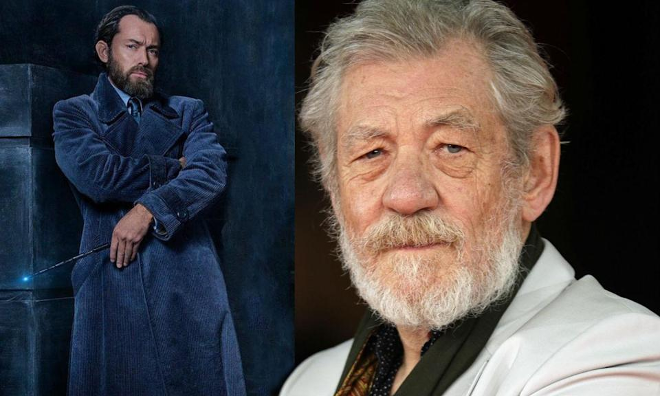 Ian McKellen is disappointed that Dumbledore isn't openly gay in Fantastic Beast 2