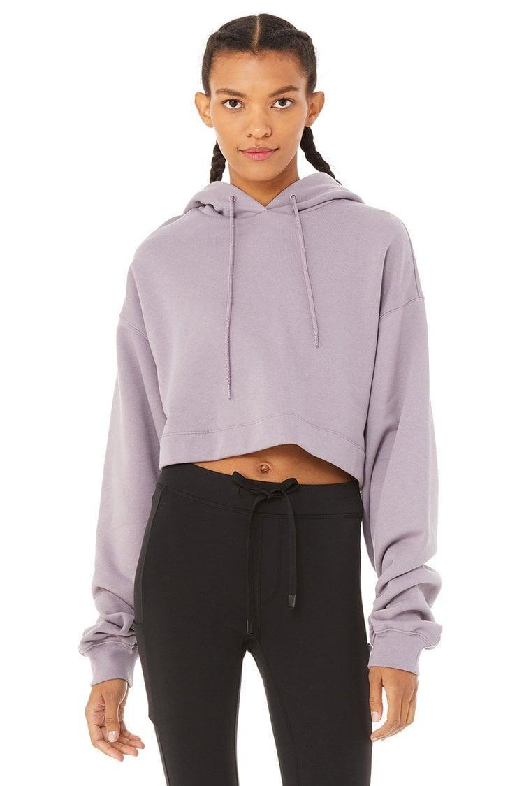 <p>We're obsessed with the color of this <span>Alo Bae Hoodie</span> ($88).</p>