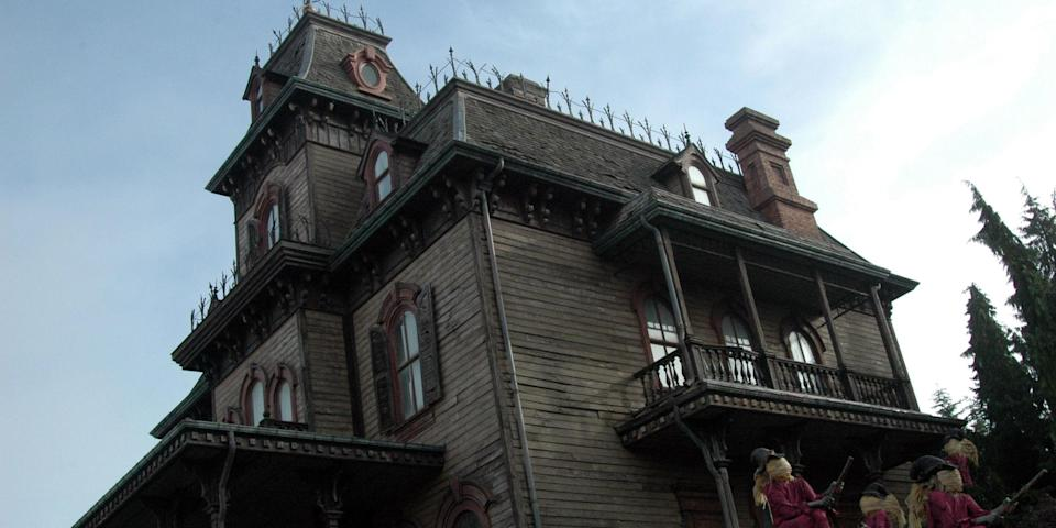 Disney's Haunted Mansion ride is a fixture at all its locations.