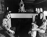 "<p>Led Zeppelin's John Paul Jones and his wife Mo aboard ""The Starship"" while on tour in America in 1973. </p>"
