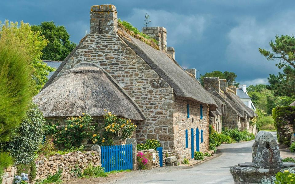Kercanic village in Brittany - Getty