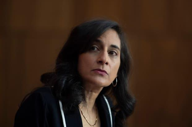 Public Services and Procurement Minister Anita Anand says her government remains committed to COVAX but all Canadians who want a vaccine should get one before Canada shares doses with any other country. (Adrian Wyld/The Canadian Press - image credit)