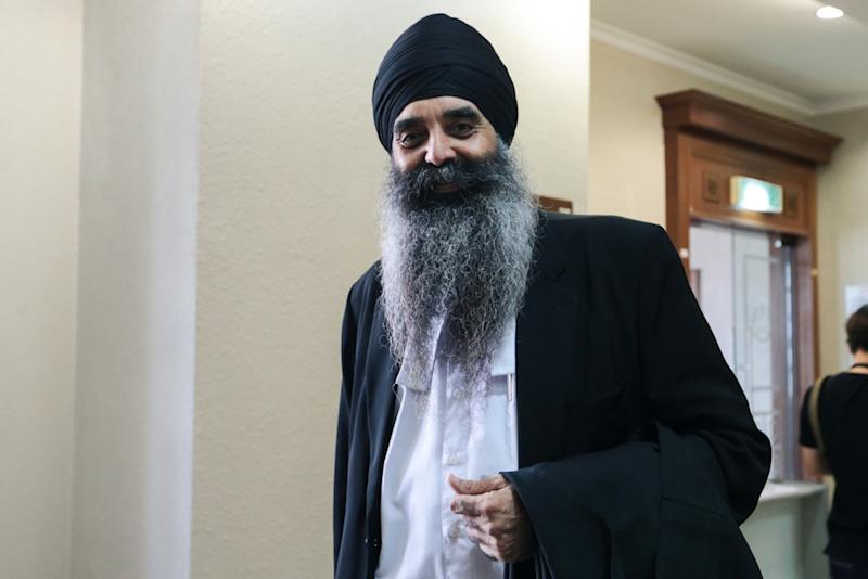 Lawyer Harcharanjit Singh representing the Umno Sabah Liaison Committee is seen at the High Court in Kuala Lumpur June 25, 2019. — Picture by Ahmad Zamzahuri