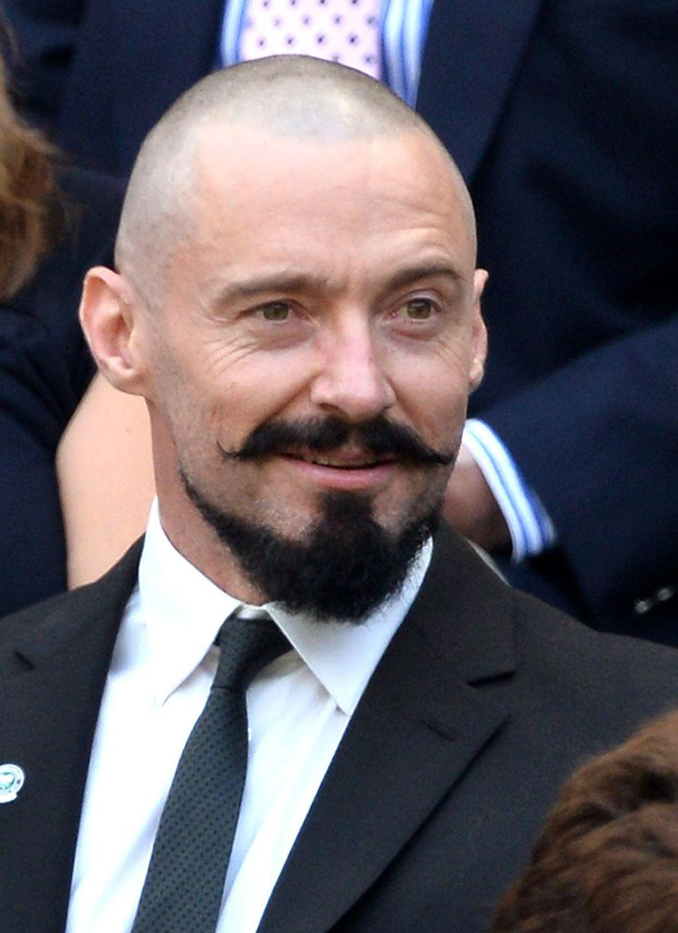 <p><strong>As seen on Hugh Jackman</strong></p><p>Is this style for everyone? Definitely not. It's aggressive in the way that it's old school and unexpected, but that's also part of it's charm. A style like this should not be taken lightly. You'll definitely get attention for it (for the right guy, that's a plus), but more than that, it takes elbow grease. The handlebar moustache alone takes trimming, shaping, and lots of product to keep it in place. The pointed goatee compounds that. But if you're going to experiment with facial hair, go big or go home, right?</p>