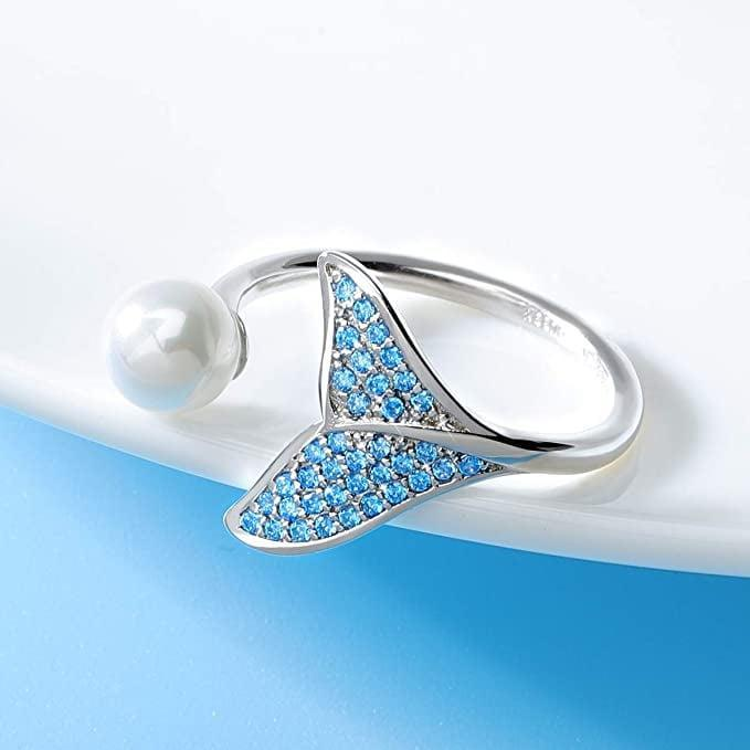 <p>Channel your inner mermaid with this <span>Forever Queen Mermaid Tail Ring</span> ($24).</p>