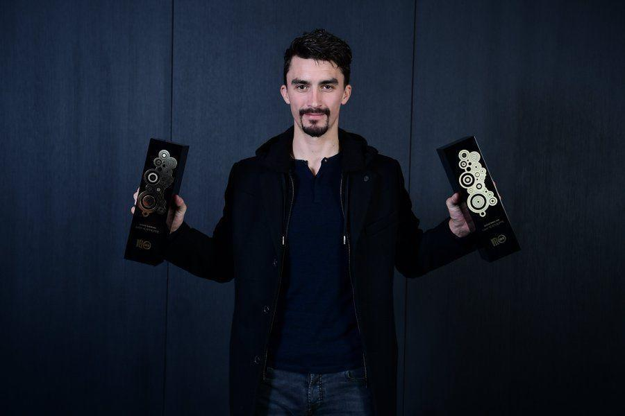 Deceuninck-QuickStep's Julian Alaphilippe won both the Vélo d'Or and the Vélo d'Or français in 2019