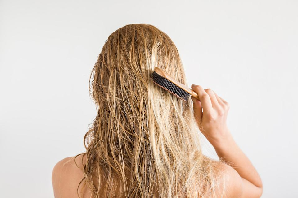 Up to 50% of women suffer from hair loss post pregnancy [Photo: Getty]