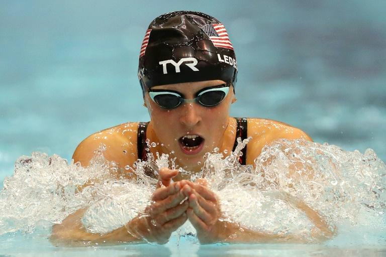 Red-hot favourite: Katie Ledecky of the US